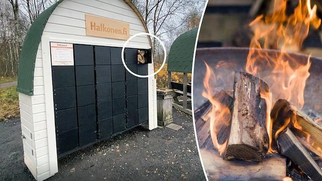 MTV Uutiset Live, Ouluun avattiin kenties maailman ensimmäinen polttopuuautomaatti – MTV tutustuu metsästä löytyvään innovaatioon