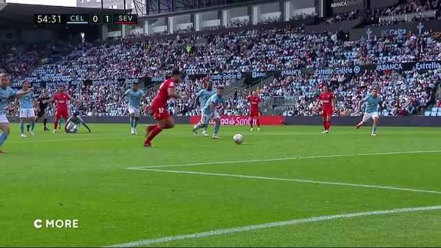 La Liga, Maalikooste: Celta Vigo - Sevilla
