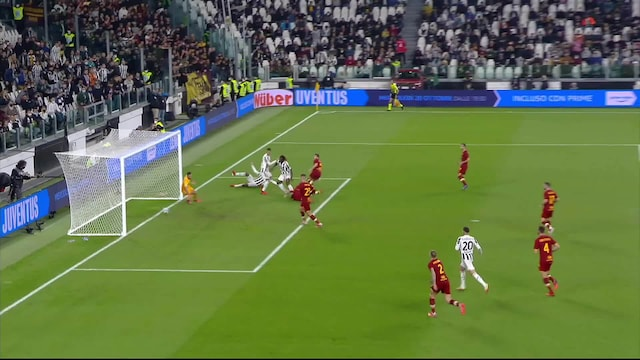 Serie A, Maalikooste: Juventus - AS Roma