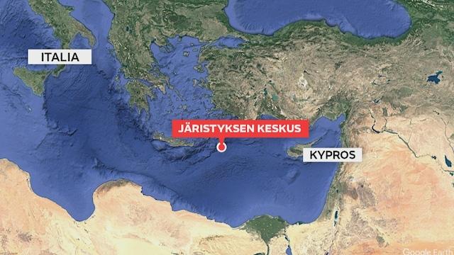 MTV Uutiset Live, Välimerellä voimakas maanjäristys – järistys tuntunut Kreikan saarilla asti