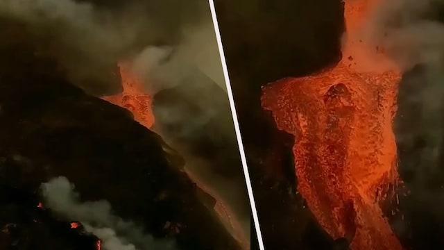 Uutisklipit, Tulivuori lähes nielaisi kameran itseensä – tätä lähemmäs tulta syöksevää vuorta ei pääse näkemään