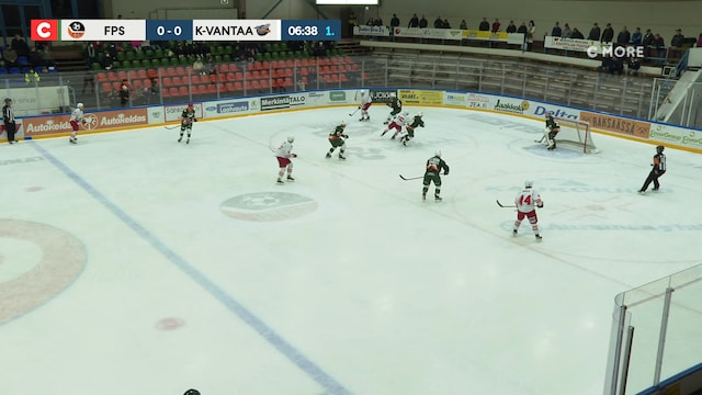 Mestis, Maali: FPS - Kiekko-Vantaa, Mikko Lahtela(20 FPS)