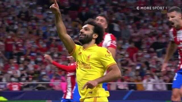 Mestarien liiga, Vajaamiehinen Atletico Madrid antaa hölmön pilkun Liverpoolille eikä Mo Salah epäonnistu