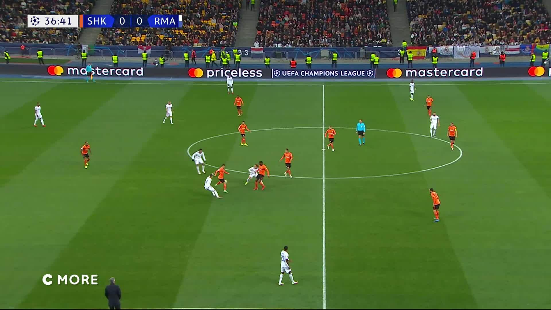 Mestarien liiga, Maalikooste: Shakhtar Donetsk - Real Madrid