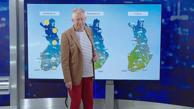 MTV Uutiset Live, Syksyn kylmin viikonloppu on edessä – mitä se käytännössä tarkoittaa, Pekka Pouta?