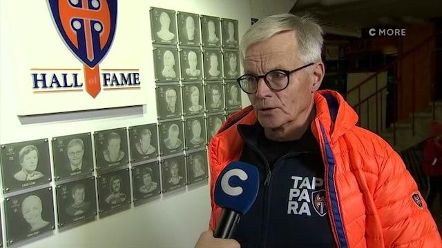Liiga, Rauno Korpi vihko kädessä Tapparan pelissä – C More haastatteli legendan