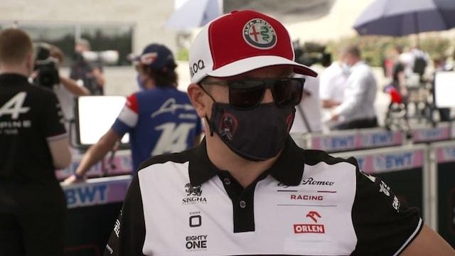 """Formula 1, Kimi Räikkönen: """"Sade on sopinut meille vähän paremmin, kuivalla vaikeaa"""""""