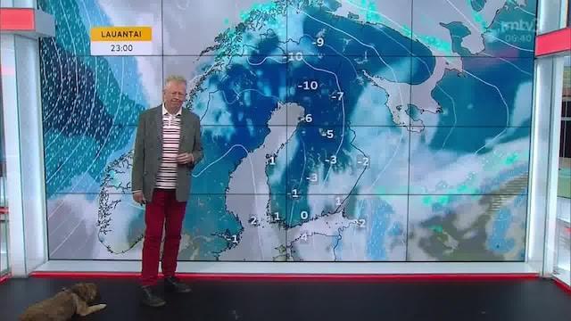 Uutisaamun sää, Perjantai 22.10. Myrskymatala kulkee Suomen yli