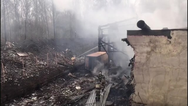 Uutisklipit, 16 kuollut Venäjällä räjähdyksessä ja tulipalossa ruutitehtaalla