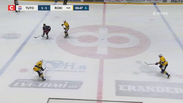 Mestis, Maali: TUTO Hockey - RoKi, Miika Tiihonen(4 RoKi)