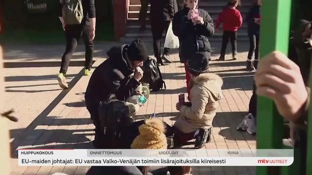 Uutisjutut: Ulkomaat, EU ei hyväksy Valko-Venäjän hybridisodankäyntiä siirtolaisten avulla