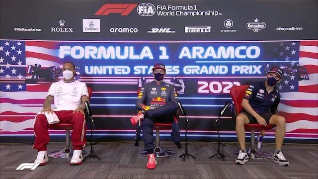 Formula 1: USA:n GP, Aika-ajon lehdistötilaisuus