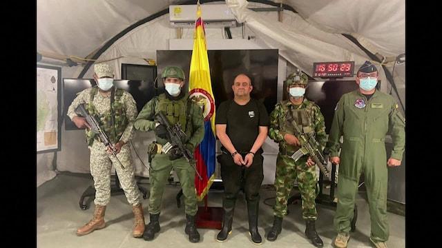 Uutisklipit, Kolumbian etsityin huumepomo kiinni: Voidaan verrata Pablo Escobarin vangitsemiseen, sanoo presidentti