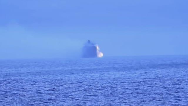 MTV Uutiset Live, Konttialus tulessa Kanadan rannikolla – kemikaalikonttien pelätään aiheuttavan ympäristötuhoja