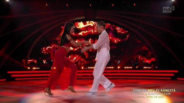 Tanssii Tähtien Kanssa, Sita & Aleksi – MONTERO (Call Me By Your Name)