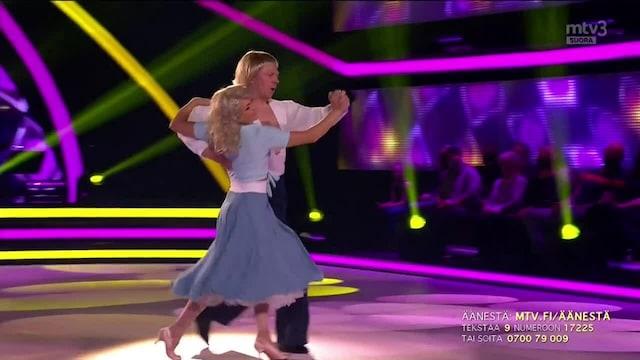 Tanssii Tähtien Kanssa, Aki & Katri – Tahdon olla sulle hellä