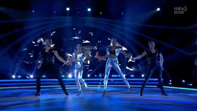 Tanssii Tähtien Kanssa, Dynamic Duo -tanssinumero: Scream