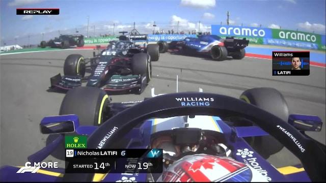 Formula 1: USA:n GP, Startti: In-car