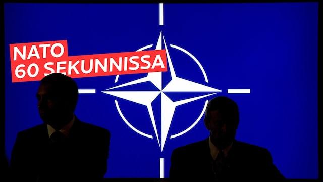 Uutisklipit, Mikä on Nato? Liittouma selitettynä 60 sekunnissa