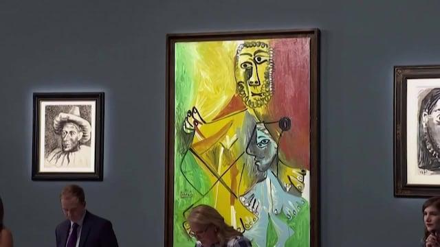Uutisklipit, Ravintolan seinällä roikkuneet Picasson taideteokset myytiin 110 miljoonalla dollarilla