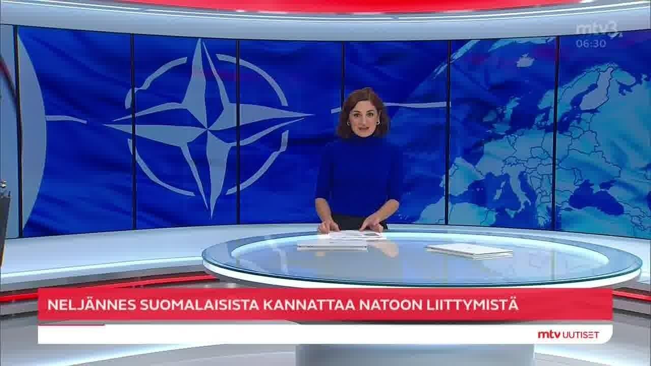 Uutisaamun uutiset, Tiistai 26.10. klo 6:30