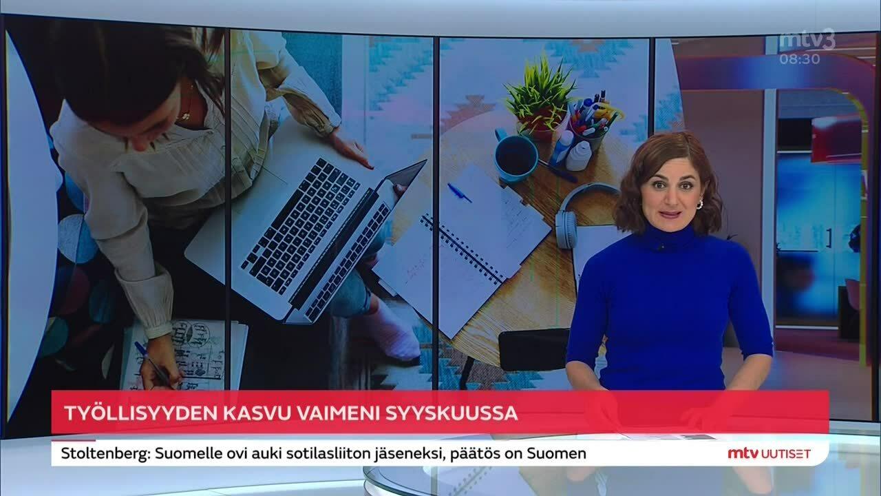 Uutisaamun uutiset, Tiistai 26.10. klo 8:30