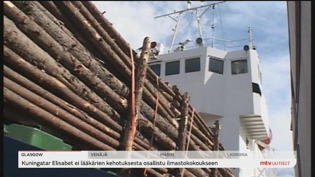 Uutisjutut: Kotimaa, Saimaan kanavan puukuljetusten kohtalo on yhä auki