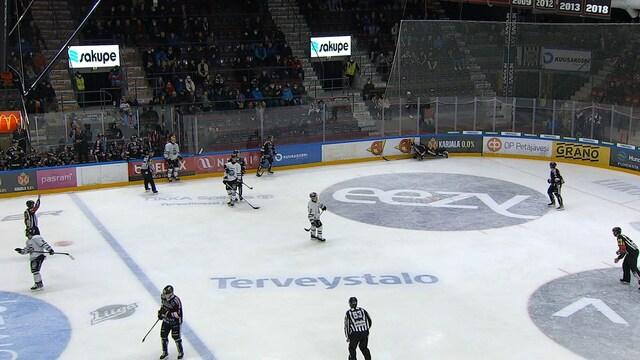 Liiga, Juraj Slafkovsky jäähy 2 minuuttia